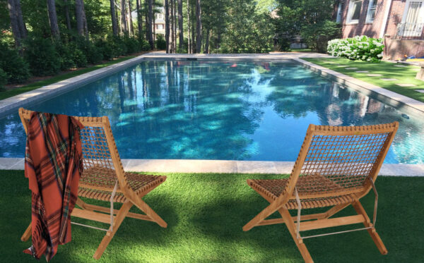 Douglas Nance Poolside Folding Deck Chair