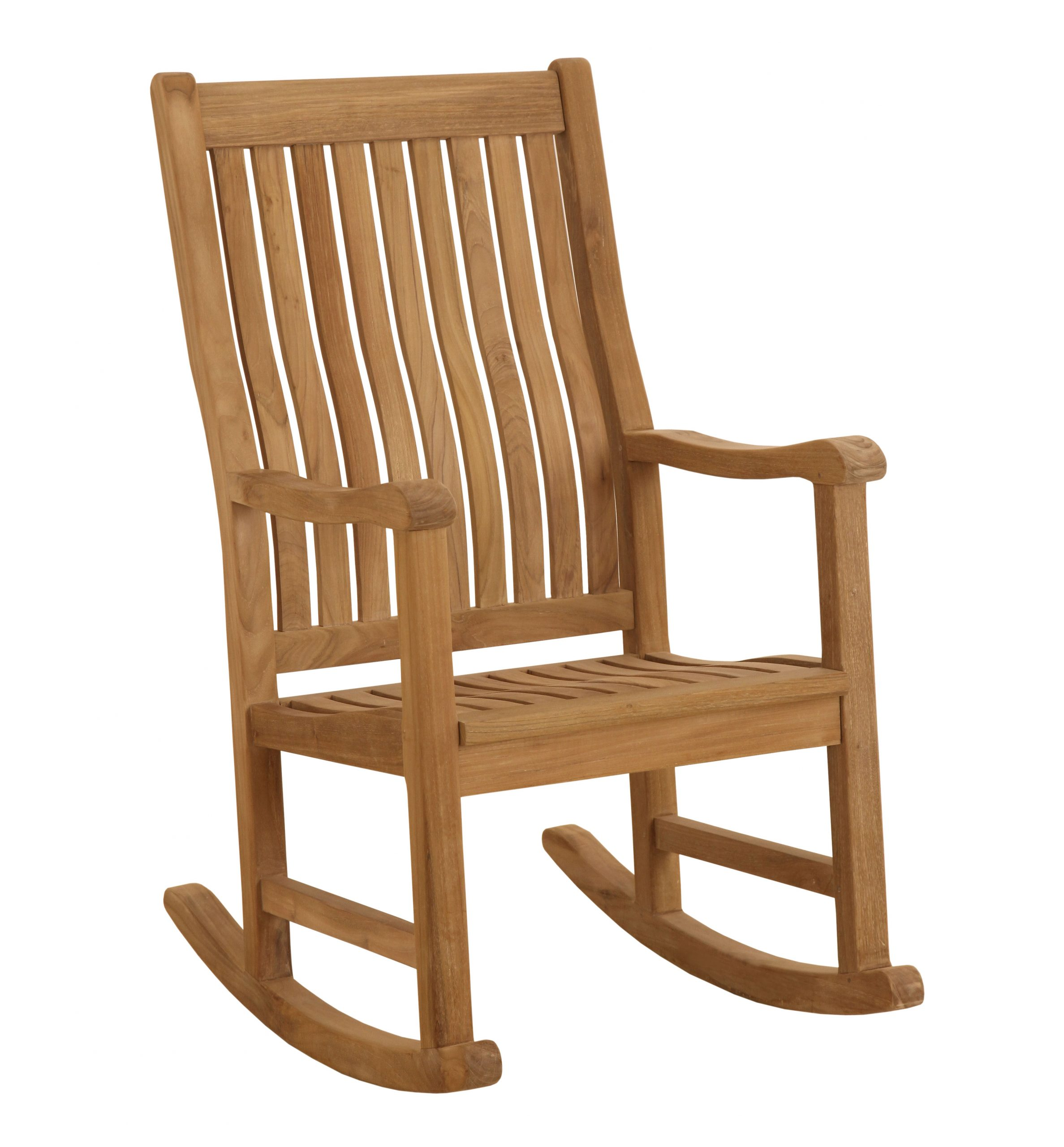 Classic Teak Rocking Chair On Sale At Atlantic Patio