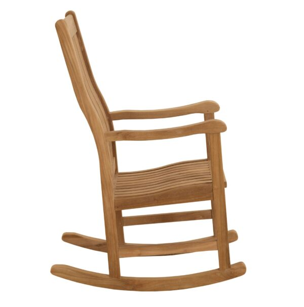 Douglas Nance teak rocking chair