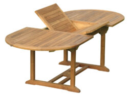 Classic teak extension dining table
