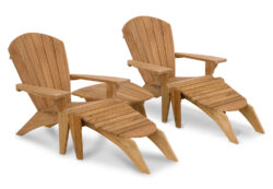 KeyWester Teak Adirondack Chair
